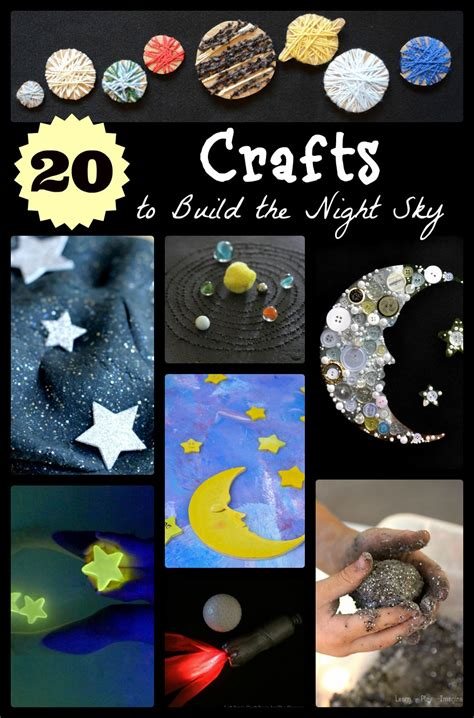 space craft ideas for 20 space themed crafts with children