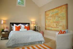 Home Decor Color Schemes Bedroom Color Schemes Using Color Complements Orange