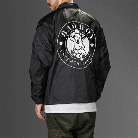 Row Records Jacket Puff Bad Boy Records Coaches Jacket Wehustle Menswear Womenswear Hats