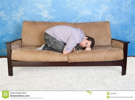 teen couch upset teen on sofa royalty free stock photography image