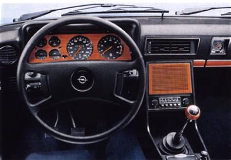 opel commodore interior opel commodore b