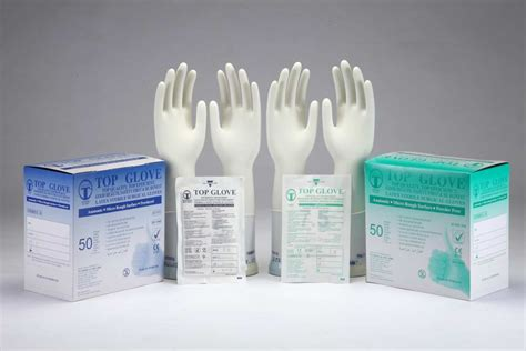 powdered and powder free surgical top glove sdn bhd