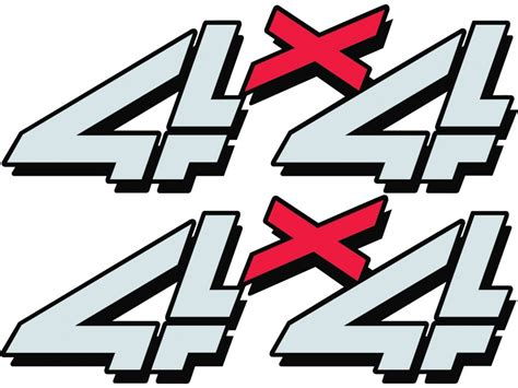 4x4 stickers for chevy trucks autos post