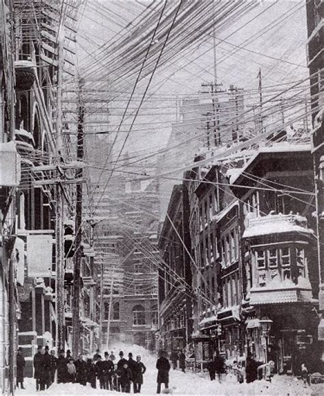 the great blizzard of 1888 new york city blizzard of 1888