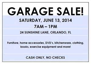 Advertise Garage Sale For Free by Garage Sale Planner Allaboutthehouse Printables