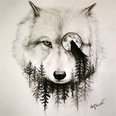 wolf drawing art pencil on instagram a r t pinterest