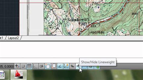 tutorial autocad raster design autocad raster design 2011 georeferensiranje hd 720p
