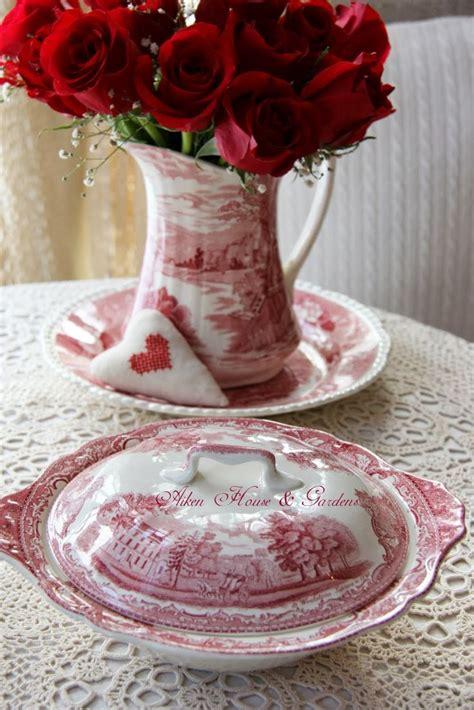 prince red house red roses red white transferware carolyn aiken aiken house gardens prince