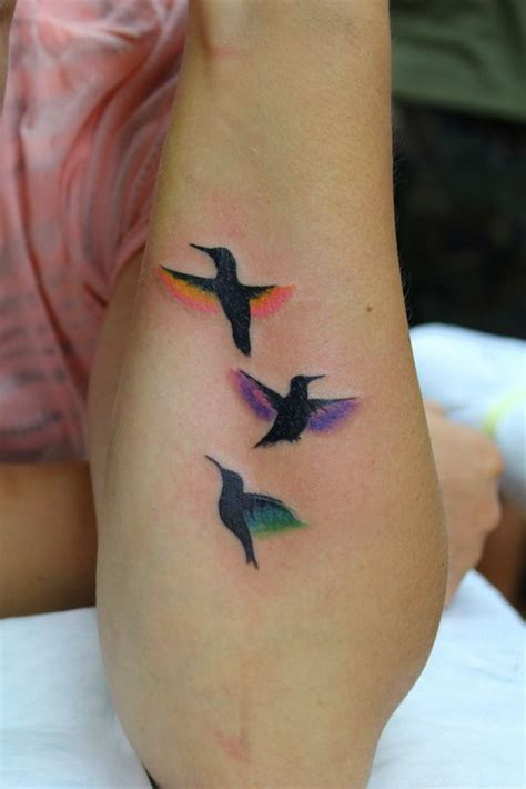 65 Cute Birds Tattoos Ideas 3 Birds Designs