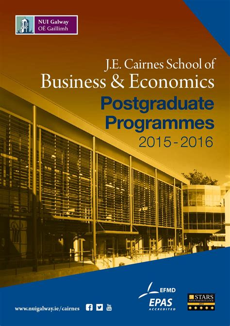 Mba Office Accounting Isu by J E Cairnes School Of Business Economics Postgraduate