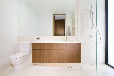 Modern Bathroom Furniture Cabinets Wooden Cabinets In Modern Bathroom Decoist
