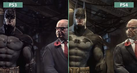 Ps4 Batman Return To Arkham Asylum batman arkham remaster compared on ps4 and ps3 doesn t look much better