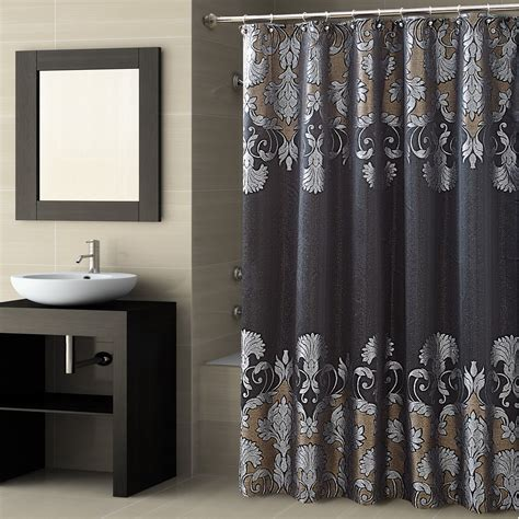 Designer Shower Curtains Decorating Fresh Simple Designer Shower Curtain Design 23464
