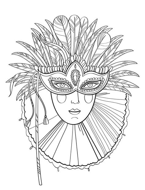 mardi gras mask coloring pages printable free printable mardi gras coloring pages