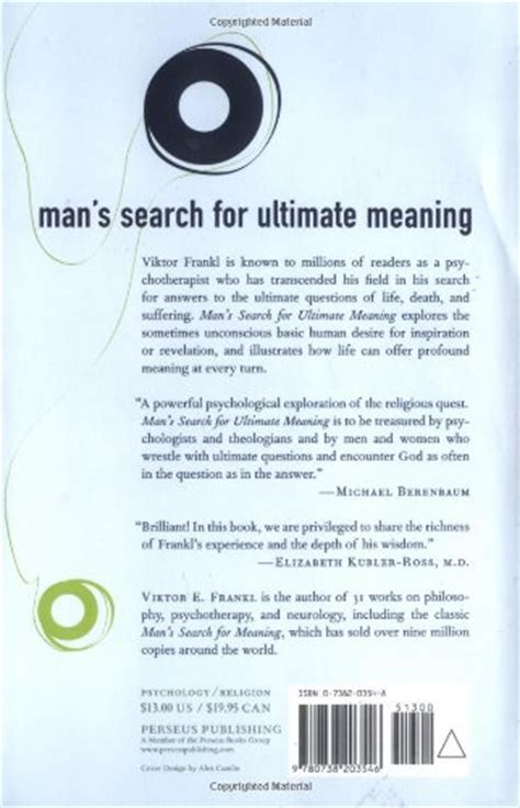libro mans search for meaning libro man s search for ultimate meaning di viktor e frankl