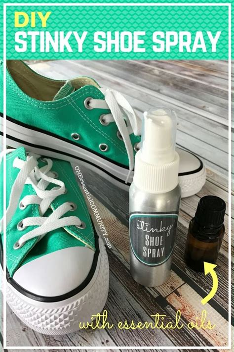 diy smelly shoes diy stinky shoe spray stinky shoes recipe cards and