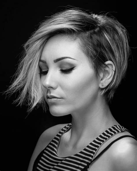 asymmetrical short hairstyles  grab everyones attention