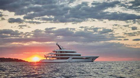 superyacht sunset  boat international