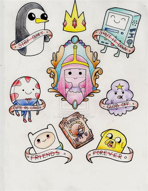 adventure time tattoo 1000 images about s on