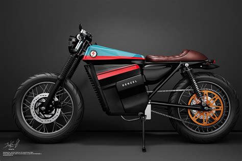 bientot  cafe racer electrique lance en production