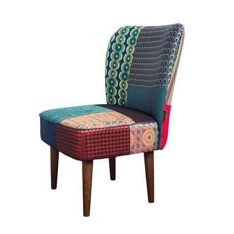 Patchwork Chairs - buy desigual patchwork jacquard chair green amara