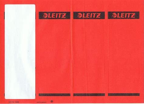 Ordner Etiketten Drucken Openoffice by Ordner Etiketten Der Marke Leitz