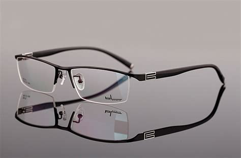 s metal half eyeglasses progressive lens reading