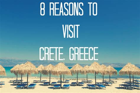 8 Reasons To See Your Doctor by 8 Reasons To Visit Crete Greece The Legendary