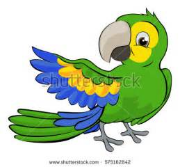 parrot cartoon stock images royalty free images amp vectors