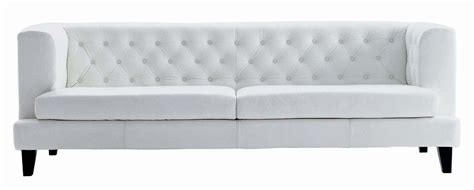 straight sectional sofas hall straight sofa 3 seats leather version white by driade