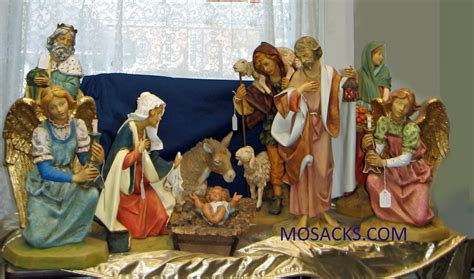 home decor fontanini nativity sets for fabulous living