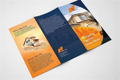 real estate tri fold brochure template real estate tri fold brochure template design bundles