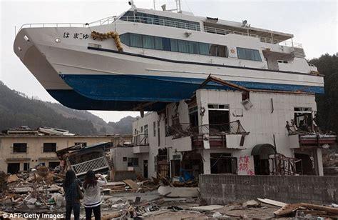 japan tsunami fishing boat stranded fishing boat that became symbol of japan s
