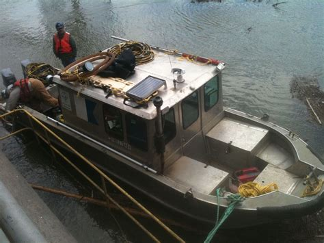 boat salvage equipment marine survey diving inspection salvage