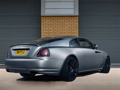 matte gray rolls royce wraith novitec spofec by rich brit bespoke vehicle