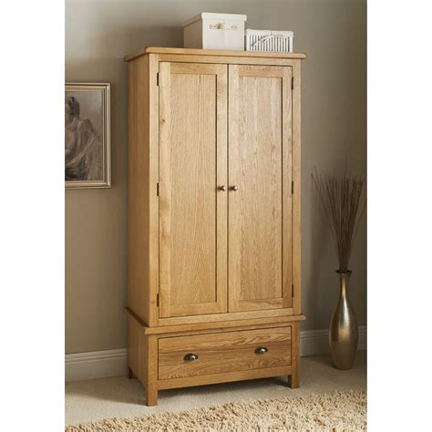 Wardrobe Pics by B M Wiltshire Oak Wardrobe 319202 B M