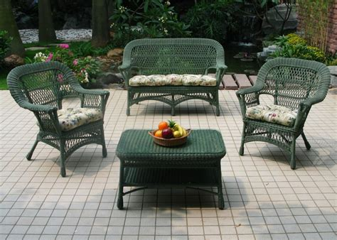 plastic wicker furniture discount wicker patio furniture