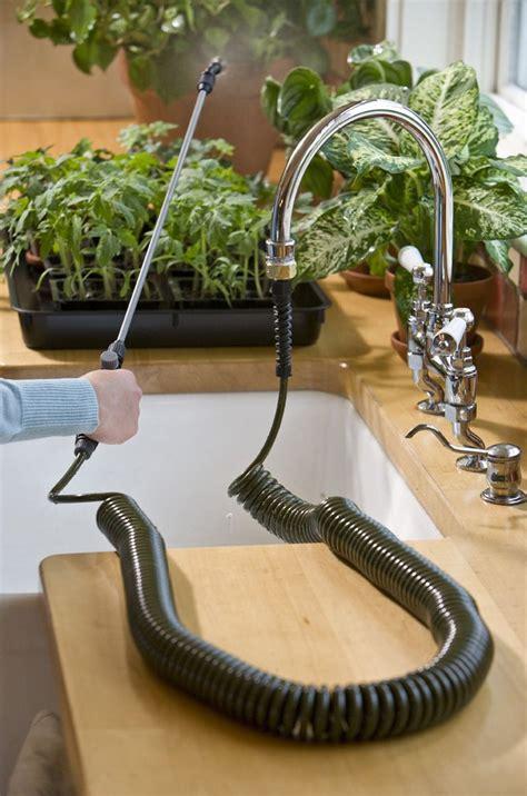 indoor mini coil hose  green head