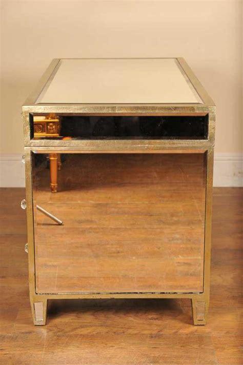 mirrored desk knee mirror furniture