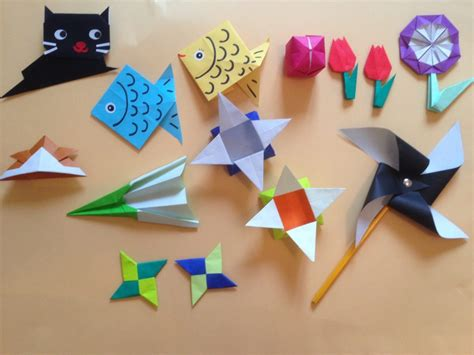 How To Make Paper Folding Things - free coloring pages learn to make japanese origami