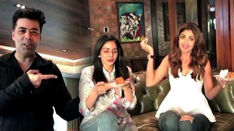 sridevi house video sridevi shilpa shetty party at karan johar s house video