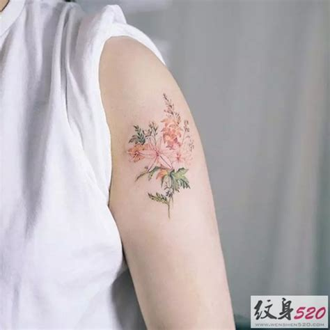 minimalist tattoo artist in la 小清新系列之唯美花草纹身第4页