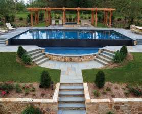 Backyard Infinity Pools Best 25 Infinity Pool Backyard Ideas On