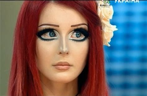 Make Up Odessa Ukrainian Manages To Look Like An Anime Character
