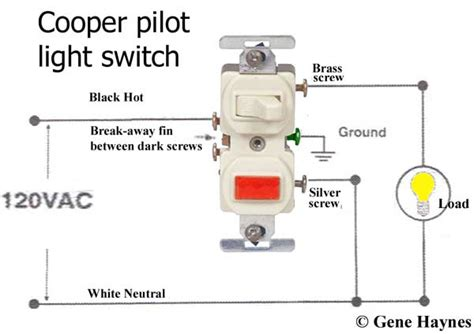 how do you wire a light switch how to wire cooper 277 pilot light switch