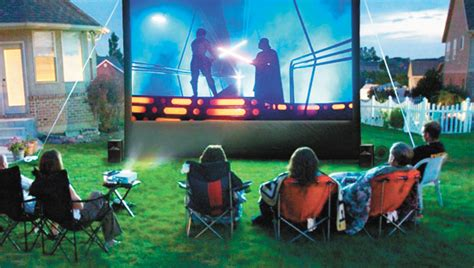 backyard movie theatre a different take on family movie night the andalusia star news