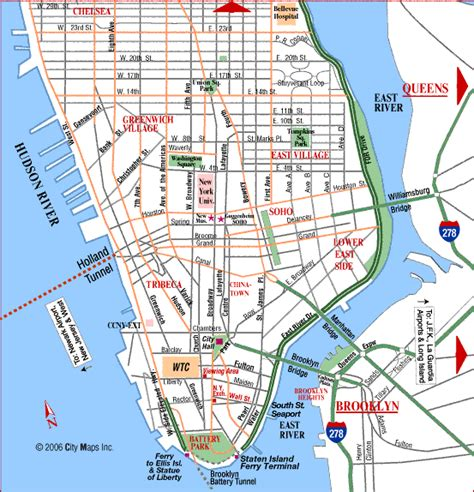 manhattan map map of manhattan outravelling maps guide