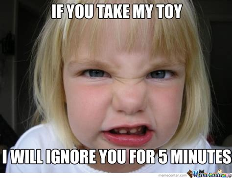 Children Meme - inconsequent angry child by demmemes meme center