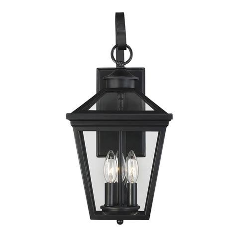 Savoy House Outdoor Lighting Savoy House Lighting Ellijay Black Outdoor Wall Light 5 141 Bk Destination Lighting
