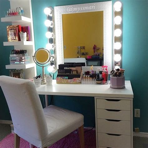 Makeup Vanities For Less 17 Best Ideas About Makeup Vanity Lighting On Diy Makeup Vanity Lighted Mirror And